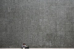 hanging out (artolog) Tags: sanfrancisco california scale wall lunch reading small explore leisure minimalism internationalstyle foundinsf 1959 skidmoreowingsmerrill crownzellerbachbuilding
