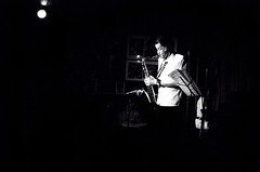 Dexter Gordon - on stage at the Village Vanguard (Tom Marcello) Tags: musicians photography jazz saxophone jazzmusic dextergordon jazzmusicians villagevanguard jazzplayers jazzphotos jazzphotography jazzphotographs tommarcello