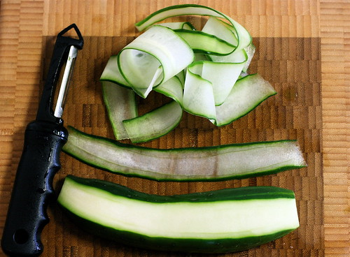 Shaved Cucumber