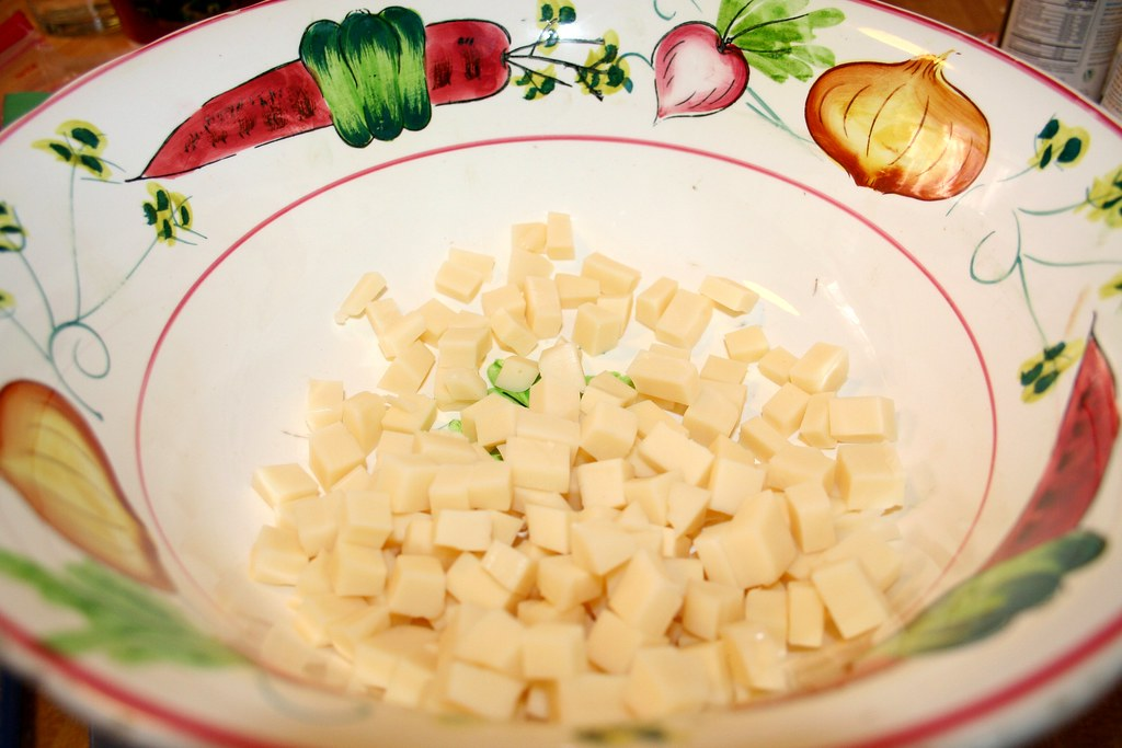 Diced Provolone