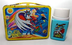 BATTLE OF THE PLANETS (edp9) Tags: school metal lunch box snack lunchbox thermos battleoftheplanets