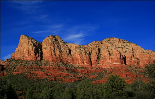 Sedona's Red Rocks - BLUE by Amplified-Photography.