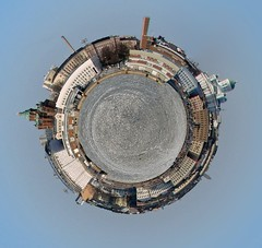 Planet Etelranta (mpolla) Tags: helsinki gimp planet etelranta polarpanorama polarcoordinatestransform