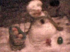 Easter-bunny-visit4 (JamiesPAW) Tags: snow texas easterbunny snowbunny