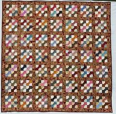 """Coucou Franoise"" (manuelarbr) Tags: quilt multicoloured scrap"