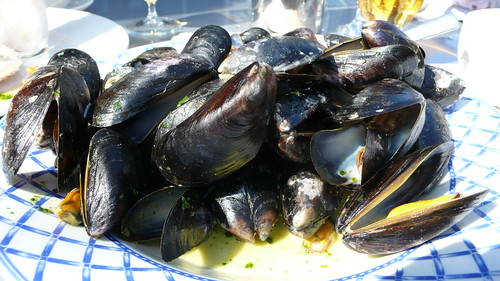 Mussels at Fishy Fishy Cafe