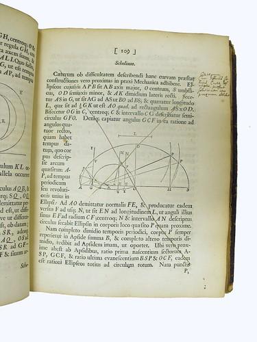 'Scholium' from Newton's 'Principia'