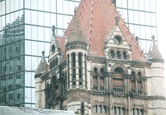 Copley Square (sftrajan) Tags: trinitychurch boston massachusetts winter backbay copley trinity richardson architecture architektur arquitectura építészet architektura architectuur arkitektur архитектура architettura 建築 貝聿銘 ieohmingpei església church kirche église chiesa kerkgebouw igreja kościół iglesia kyrka церковь kostel nationalregisterofhistoricplaces