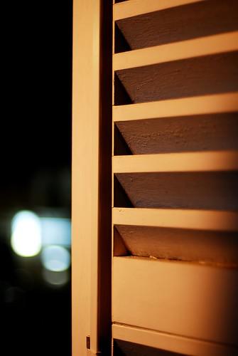 Open Night Window