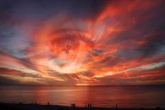 ~ (salkiwi) Tags: sunset eye beach photoshop god watch australia overlay explore wa layers cottesloe 18200mm impressedbeauty flickrplatinum clevercreativecaptures