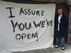 I Assure You We're Open