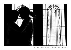 Good bye (~* Rae Rae *~) Tags: blackandwhite copyright love window silhouette matt pain hurt doors friendship emotion relief relationship mysterious romantic rae strength goodbye symbolic partners breakup positivity raethrenoworthphotography blueelementphotography beginningsandendings raethrenoworth blueelement