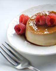 Espresso Creme Brule (fhansenphoto) Tags: food dessert creme custard brule rasberries