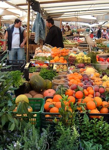 Campo de Fiore market, Rome