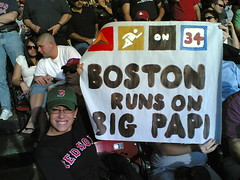 """Boston Runs On Big Papi"""