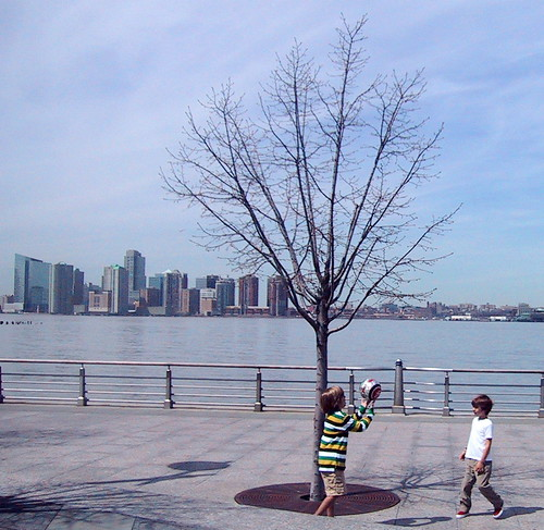 Playing by the Hudson