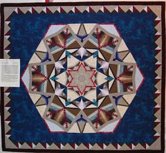 cropped star quilt