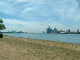 Detroit and Windsor
