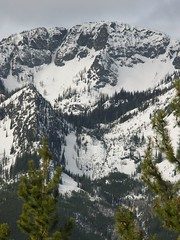 Tyee Mtn. to the left and Tyee Ridge with highoints