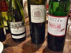gamme des vins Château Coujan