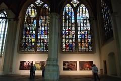 World Photo Exhibit in the Oude Kerk (abragrace) Tags: holland church netherlands dutch amsterdam europe photos exhibit oudekerk