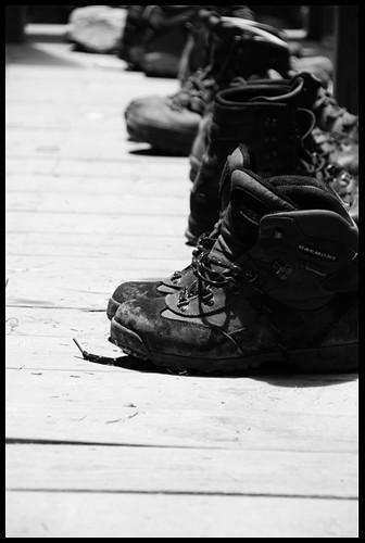 我們的登山鞋