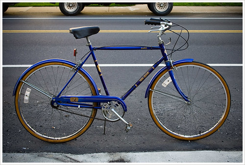 the new old blue bike