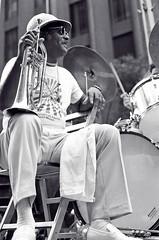 Clark Terry w/ flugelhorn (Tom Marcello) Tags: photography jazz jazzmusic flugelhorn jazzmusicians clarkterry jazzplayers jazzphotos jazzphotography jazzphotographs tommarcello