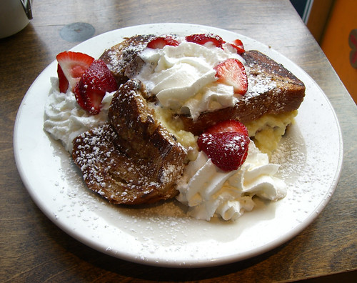 Stuffed French Toast (Ear Wax Cafe)