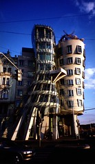 The Facade of the Dancing Building (crowbert) Tags: architecture facade prague praha gehry dancingbuilding europe99