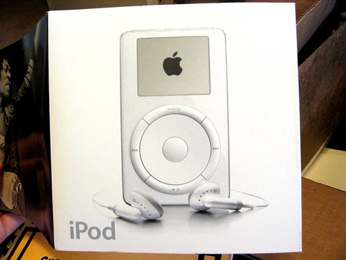 First-gen iPod packaging
