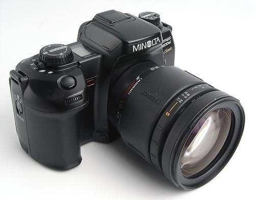 Thin Blue Line: Minolta Cameras