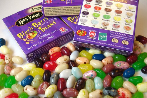 harry potter jelly beans flavors. like Gatorade jelly beans)