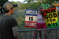 Westboro Baptist Church at the Billy Graham Crusade, 2 , by RSEanes @ Flickr