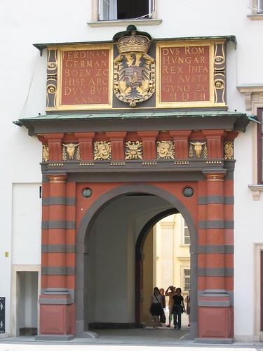 שער בארמון הופבורג, וינה, אוסטריה