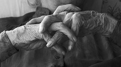 hands B&W (algo) Tags: old blackandwhite bw photography hands topf50 topv1111 topv999 interestingness1 topv5555 topv777 top20 topv3333 topf100 oldage 100f explored explore1 exploretop20 50702 bonzag searchthebestnew