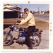Dad on His Bike 1970