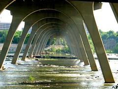 Under the Manchester Bridge / Sous le Pont Manchester - by taberandrew
