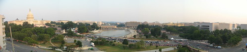 View of the Capitol from the Department of Labor Roofdeck