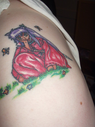 Best Anime Inuyasa Tatoo