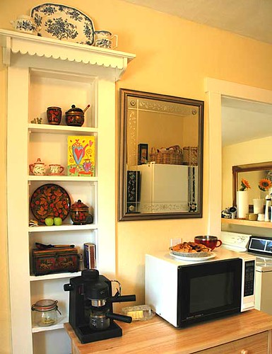 cooking area, kitchen display, laundryroom, Seattle, Washington, USA