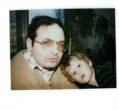 Polaroid 1. (top pocket man) Tags: schwartz childhood dad polaroid