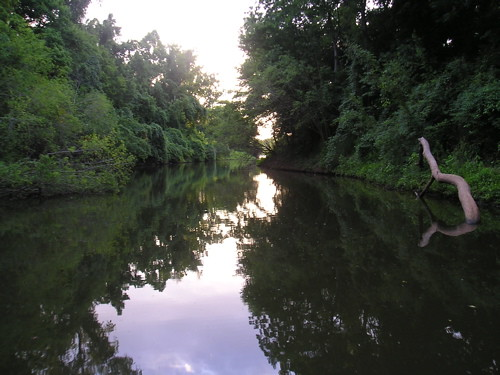 Cross Bayou, Shreveport by trudeau