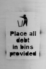 dump the debt - by Daveybot