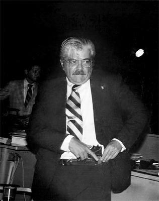 Febres Cordero en el congreso ecuatoriano 1981