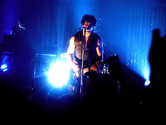 Trent Reznor at The Brixton Academy,  London - July 4, 2005 (crazyjaneski) Tags: nin rockshow trent reznor nine inch nails london brixtonacademy trentreznor