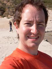 On the Beach (ldandersen) Tags: selfportrait bigsur california buzzandersen pfeifferbeach beach me geotagged geolon12179803848266602 geolat3623444293377879