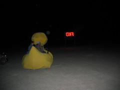 Duck and FKO sign (jacktrade) Tags: 4th juplaya trip nephology fkos camp
