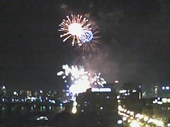 Crappy phonecam fireworks shot
