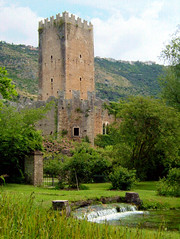 The Gardens of Ninfa #4 (Andrea Marutti) Tags: ninfa gardens giardino giardini rovine ruins caetani latina lazio italy italia doganella doganelladininfa wwf plants piante flower flowers fiore fiori wonderful meraviglioso stupendo nature natura natural naturale stagno pond june 2005